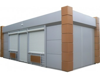 Торговый павильон 8х4м