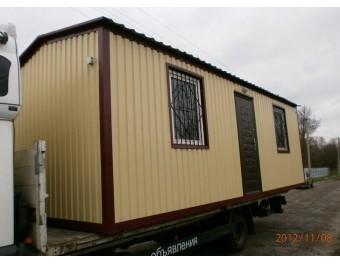 Дачный домик 6х2,5х2,8м - эконом