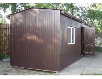 Дачный домик 6х2,5х2,8м - стандарт