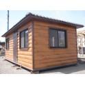 Садовый домик 6х2,5х2,8м - ЛЮКС