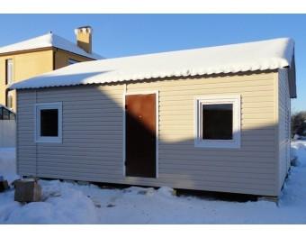 Садовый домик с санузлом 8х3х2,8м