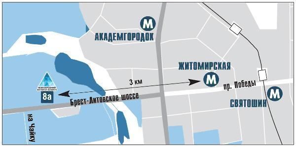 Расположение офиса в Киеве  - магазин металлоконструкций